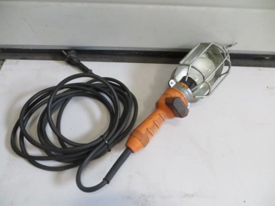 Looplamp Met Metalen Korf.Looplamp Met Metalen Korf